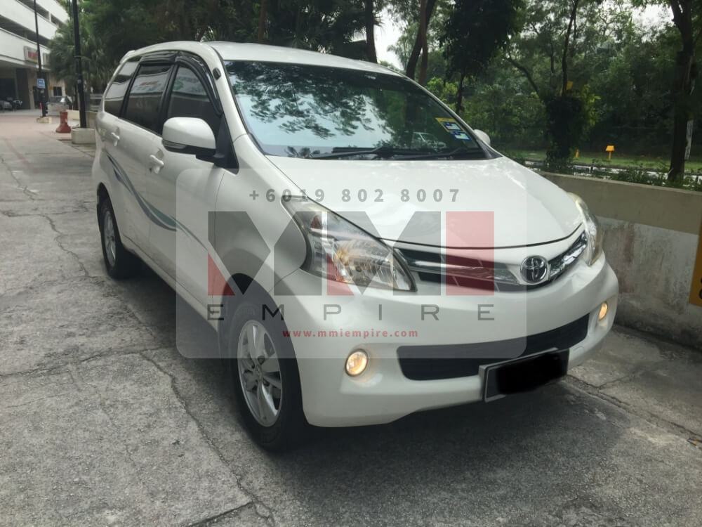 Toyota Avanza 1.5G