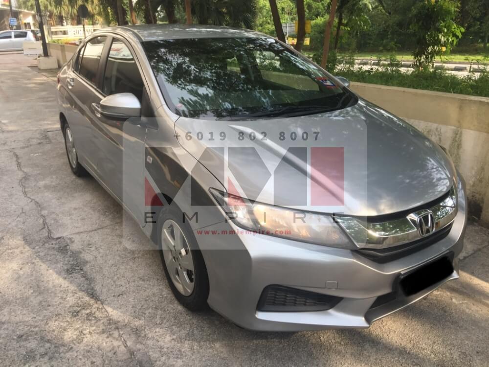 Honda City 1.5 Silver 2016
