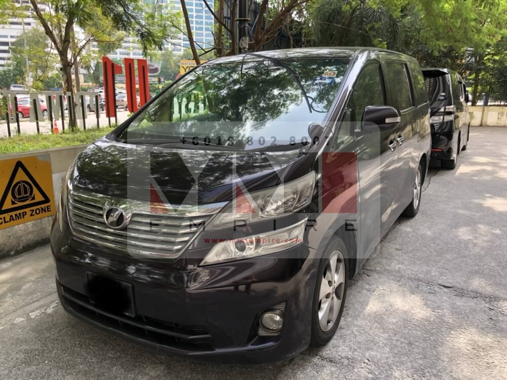 Vellfire 2.4L 8Seater Dark Purple