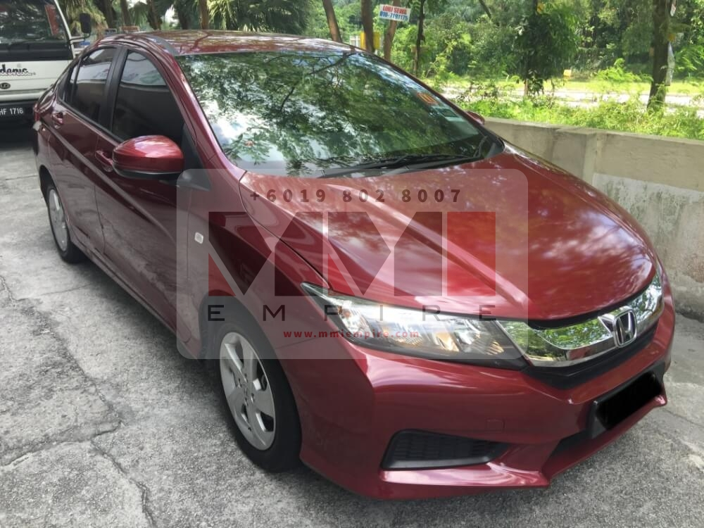 Honda City 1.5 Maroon 2016