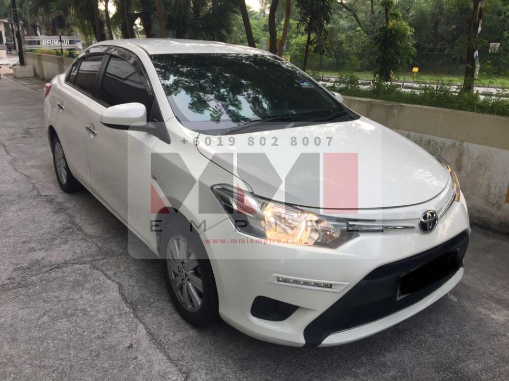 Toyota Vios 1.5J White 2016